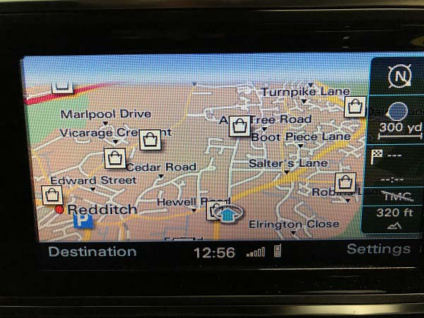 audi a3 map activation