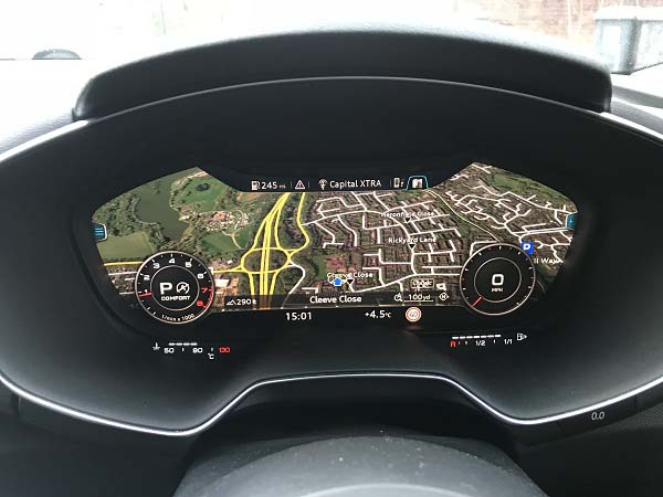 audi tt activation sat nav