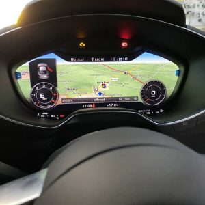 audi tt sat nav carplay