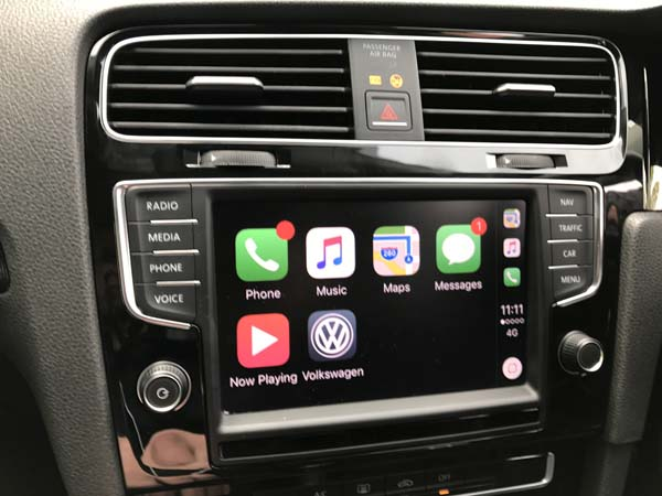 vw golf mk7 carplay activation
