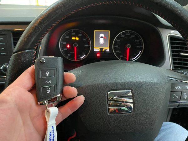 seat spare key