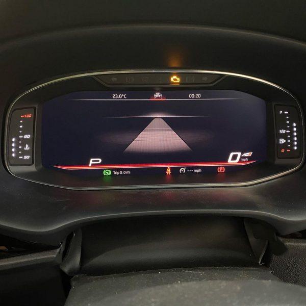 seat leon mk3 virtual cockpit 2