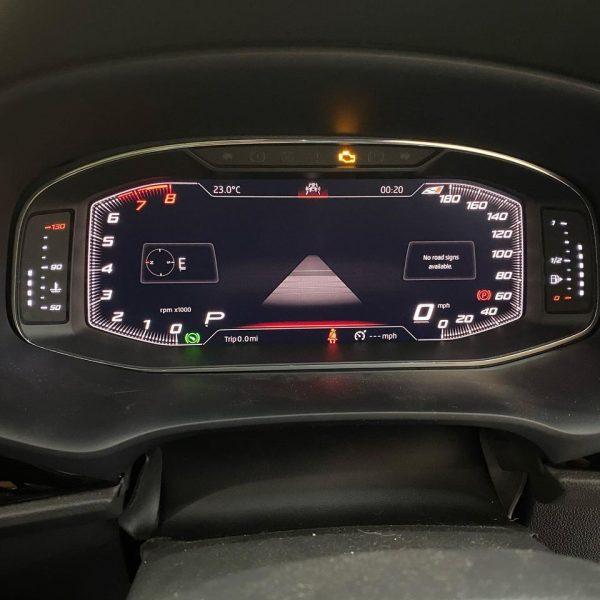 seat leon mk3 virtual cockpit 3
