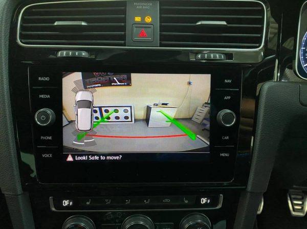 vw golf discover media mib2.5 surround trim 1